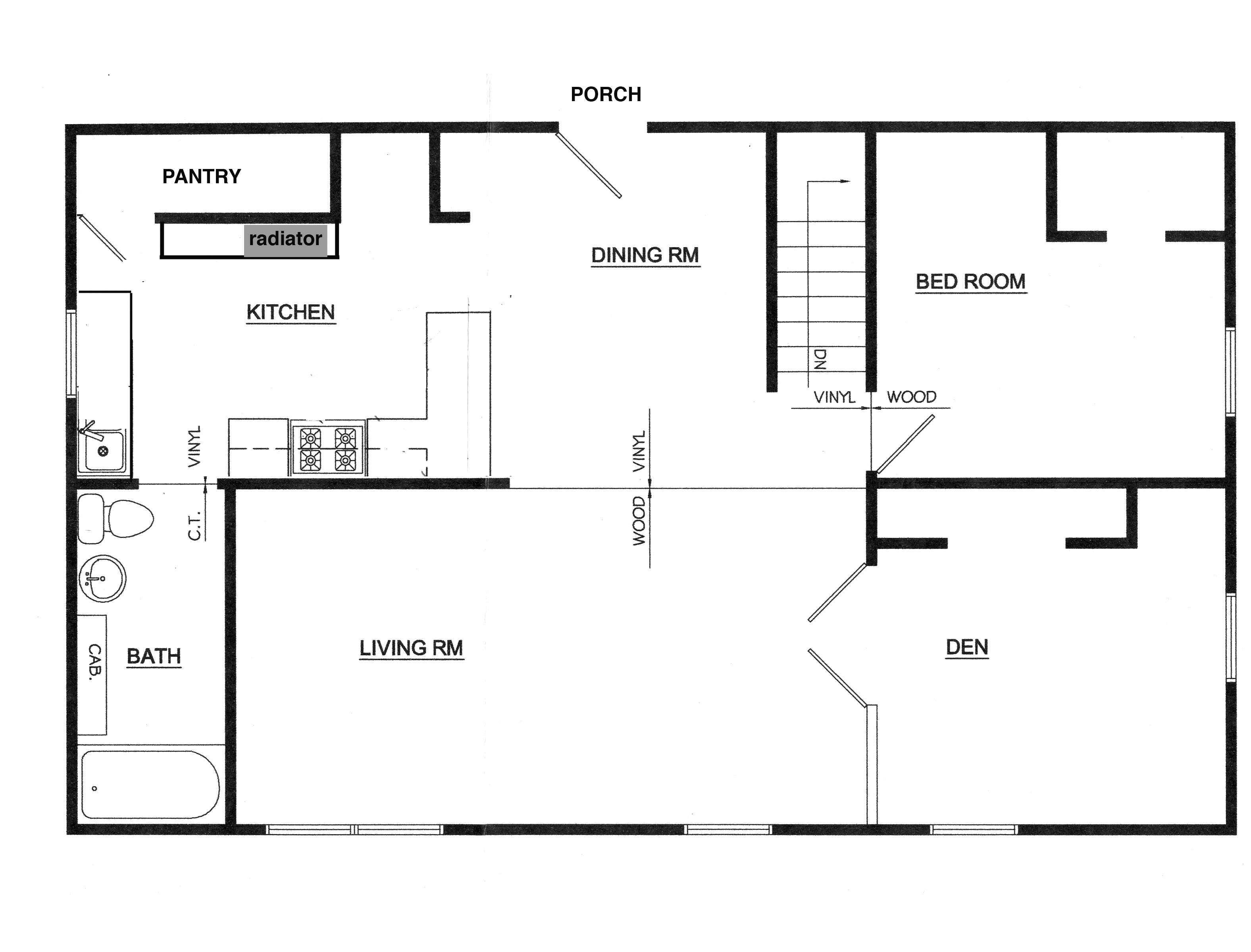 Floor Plans This Odd House